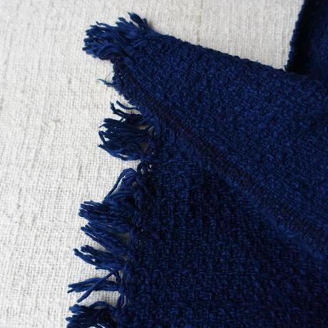 Gara-bou Medium Stole Amami Dyed Kabe 50×190cm (Indigo)