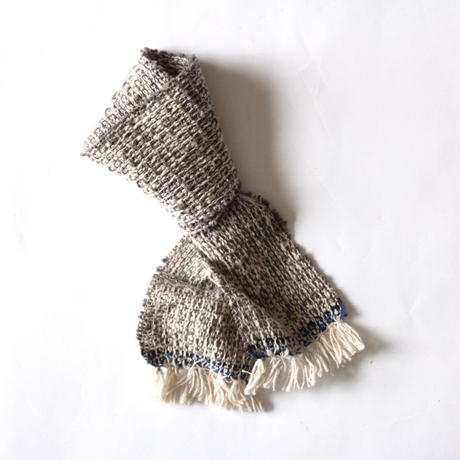 Kids & Baby Gara-bou Muffler Kabe (Light Gray)