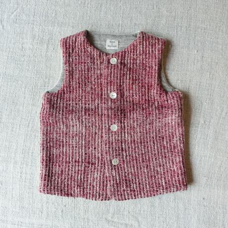 Gara-bou kids Vest (Brush Red)