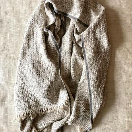 Gara-bou Blanket Stole Kabe 100×190cm (Sand)