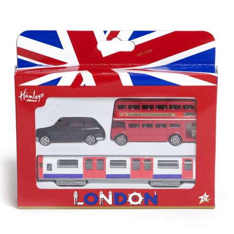 Hamleys London Trio Pack,