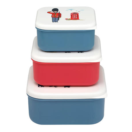 Guards Set Of 3 Snack Boxes