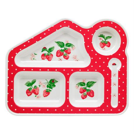 Wild Strawberry Meramine Food Tray