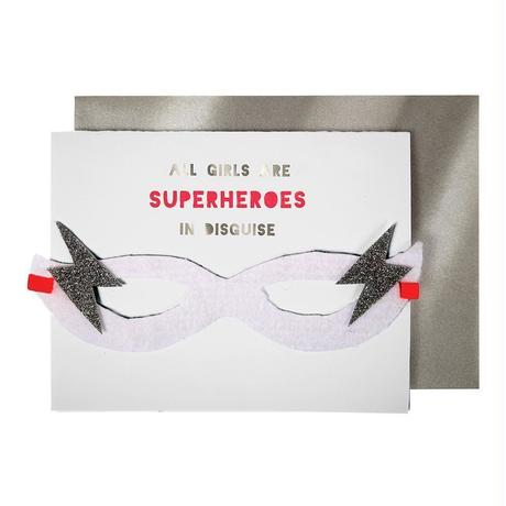 Girl Superhero Card