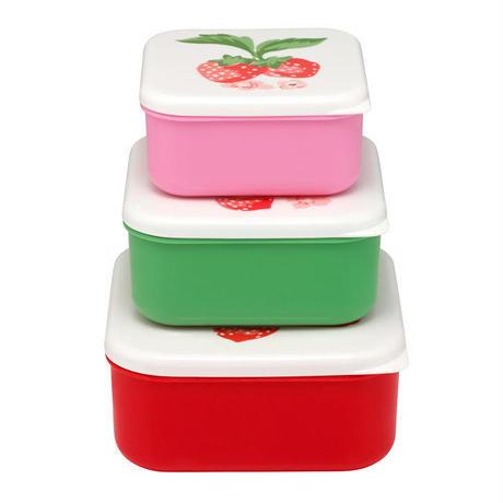 Wild Strawberry set of 3 Sack Boxes