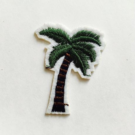 ワッペン coconut tree