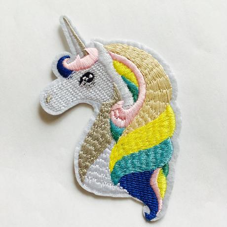 ワッペン  unicorn
