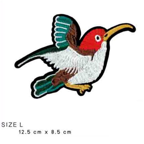 ワッペン  bird