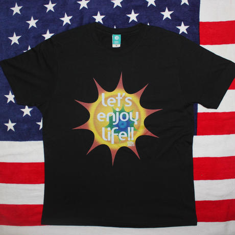 ENJOY LIFE Tshirts Black