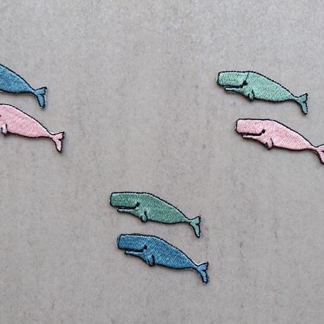 クジラセット ワッペン