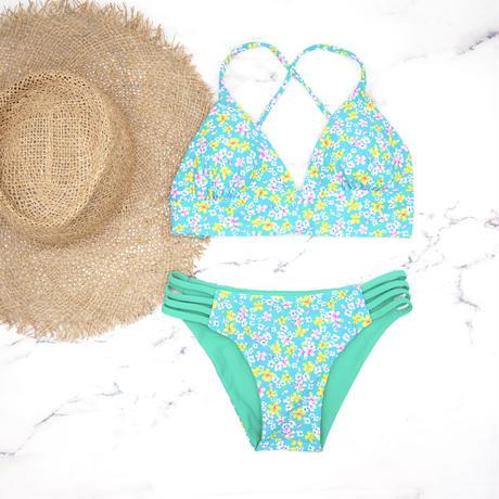 即納 A-string reversible long under bikini Right green