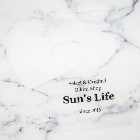 即納 Sun'sLifeオリジナル 速乾性ATマスク White
