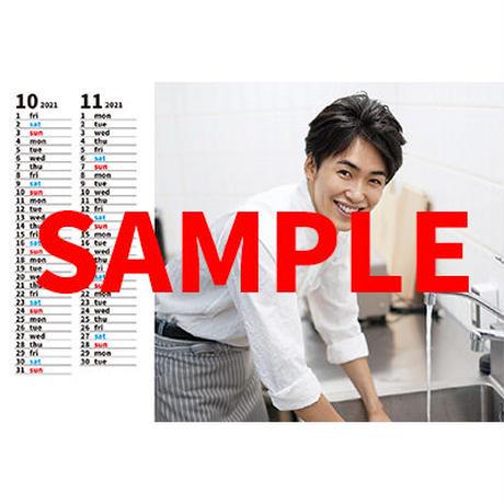 内海啓貴卓上カレンダー2021年4月-2022年3月