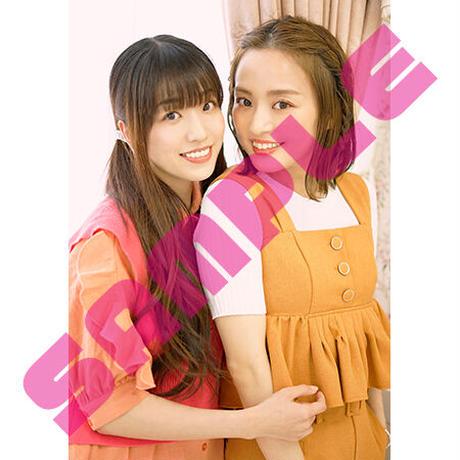 富田麻帆・椙山さと美ペアブロマイドセット2021