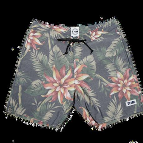 THE HARD MAN  Dungaree Aloha Board Shorts(17inch) ネイビー