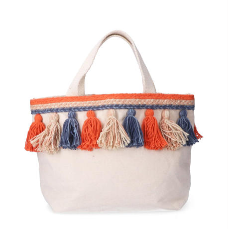 Lilas Campbell tassel tote bag