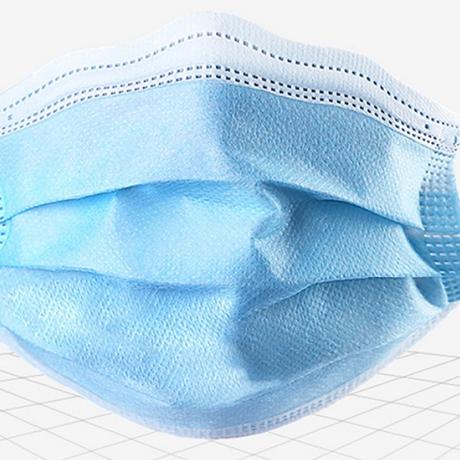 【1,500円】高密度  3層プリーツマスク(50枚入)FDA/CE認証製品