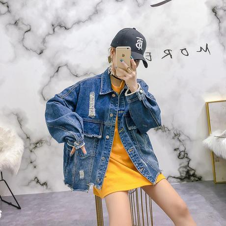 レディース アウター ジャケット コート 長袖 ショート丈 シンプル 可愛い ゆったり スタイリッシュ 春 秋 2213