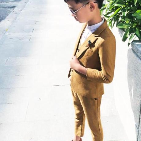 子供服 キッズ ボーイズ スーツ セット フォーマル 紳士服 入学式 卒業式 春 秋 1791