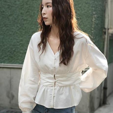 シャツ レディース ブラウス トップス ヒップシャツ カジュアル おしゃれ ゆったり 長袖 春 秋 2231