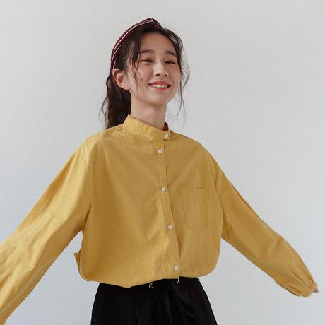シャツ レディース レトロシャツ 長袖 ヒップシャツ おしゃれ ゆったり 春 夏 秋 2159
