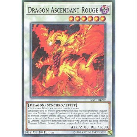 フランス語版 SAST-FR099 Red Rising Dragon レッド・ライジング・ドラゴン (ノーマル) 1st Edition