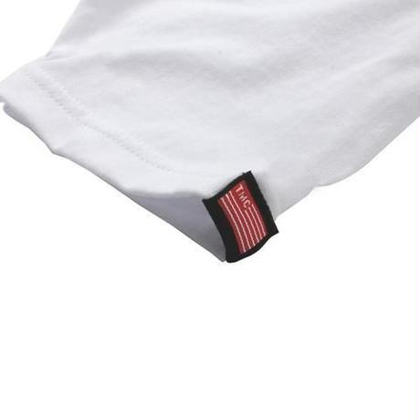TMC Flag Tee White x Red