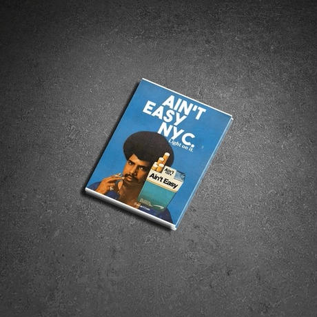 AIN'T EASY  STICKERS SET