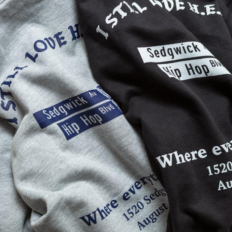 Where Everything Began Hoodie grey