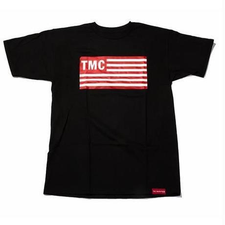 TMC Flag Tee  Black x Red