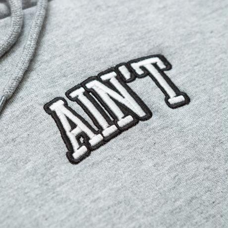 Ain't  Original Logo Hoodie 刺繍