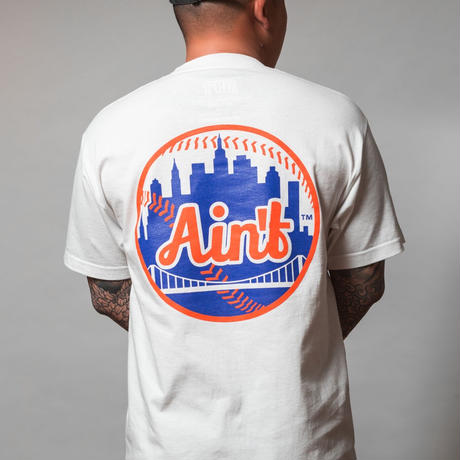 Ain't NY Mets Color Tee White