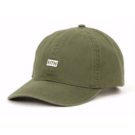 Kith Twill Dad Hat/Olive