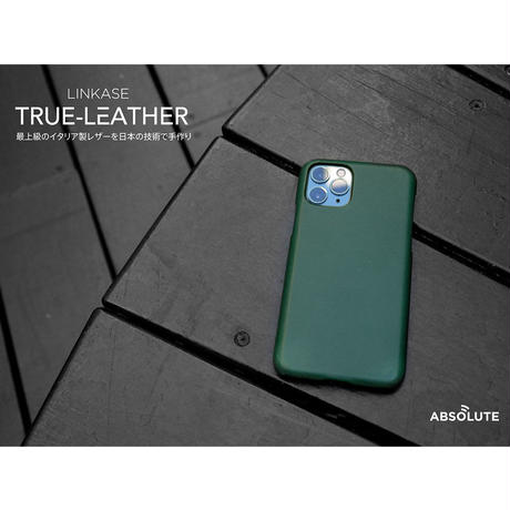 ABSOLUTE・LINKASE TRUE LEATHER イタリア製ベジタブルタンニンレザー使用・日本で製造