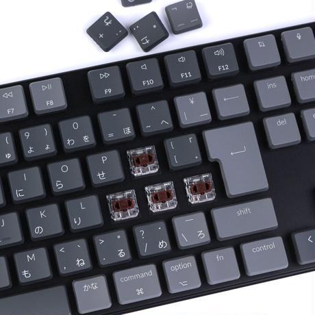 Keychron K1 ワイヤレス・メカニカルキーボード White LED(テンキー付)