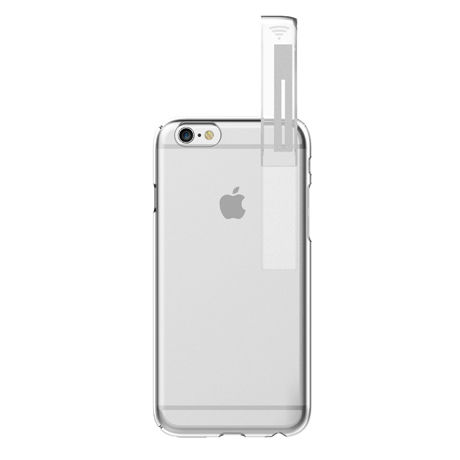 LINKASE CLEAR (with WIFI ) for iPhone 6/6s・WIFIシグナル拡張iPhoneケース