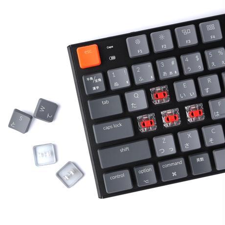 Keychron K1 ワイヤレス・メカニカルキーボード White LED(テンキーレス)