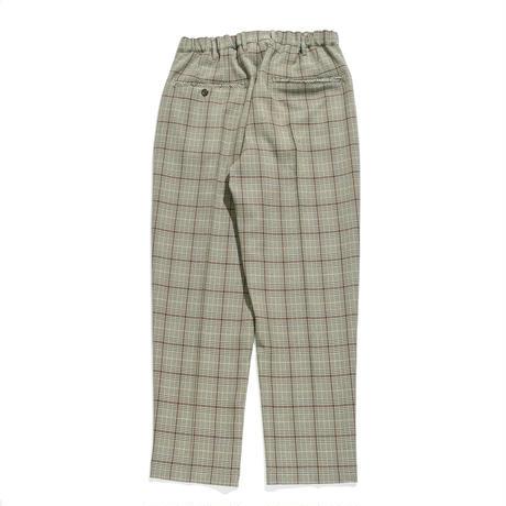 Utility trouser - Glen check / Beige