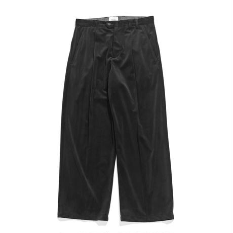 Officer pants - Velour twill / Black