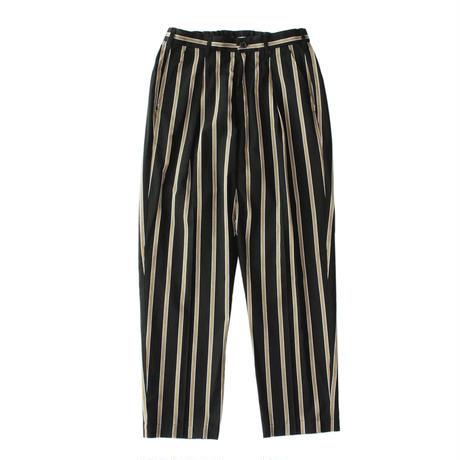 Utility trouser - Tencel stripe / Black