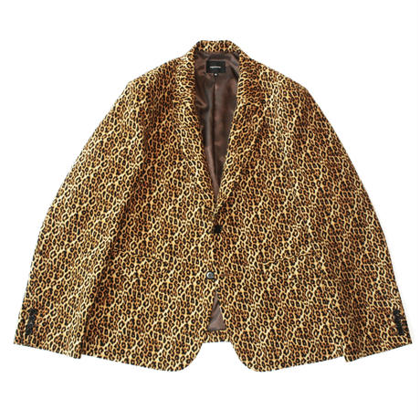 2B tailored jacket - Leopard
