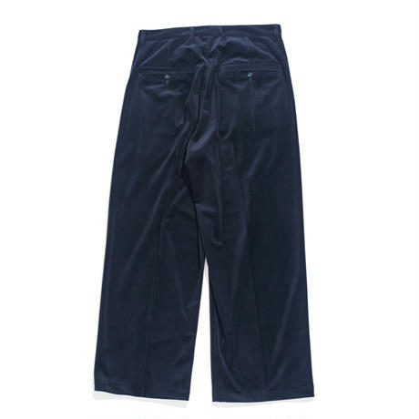 Officer pants - Velour twill / Navy
