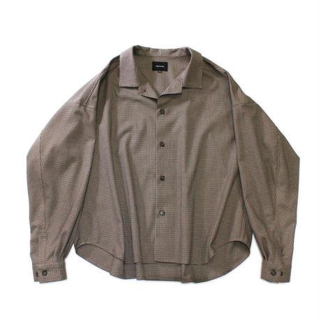 Big shirt jacket 改 - Gun club check