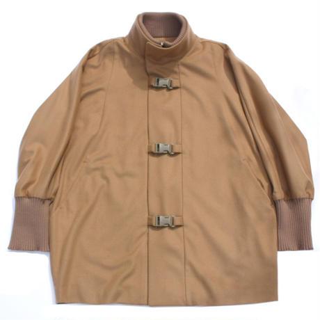 Dolman Buckle Overcoat - Cashmere Beaver