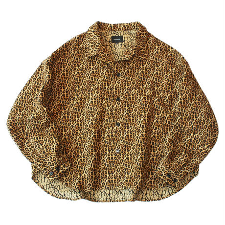 Big shirt jacket 弐 - Leopard