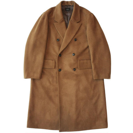 Double chester coat - Melton / Camel
