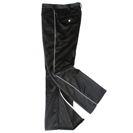 Cowboy zip trouser - Velour / Black