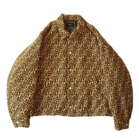 Padding coach jacket - Leopard