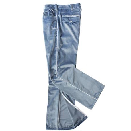 Cowboy zip trouser - Velour / Sax
