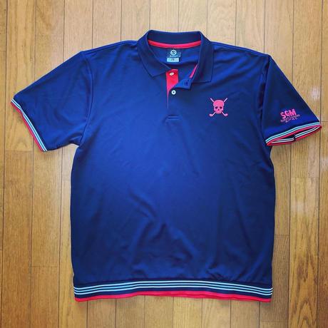 SGMドライポロシャツ(ネイビー)